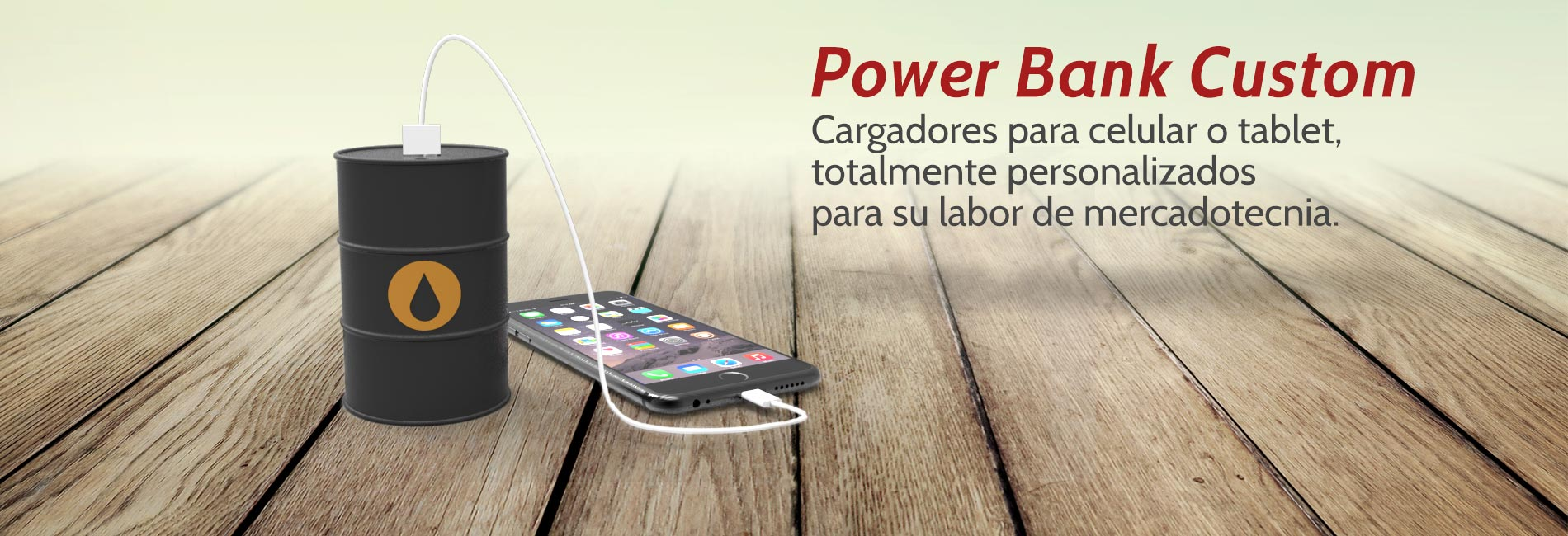Cargadores Power Bank Promocionales Custom